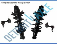 Both (2) Brand New Complete Rear Strut + 2 Rear Sway Bar End Links Non SI