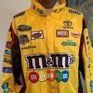 Kyle Busch #18 Nascar JH Design Men's Large Uniform  Vintage Jacket