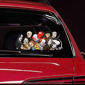Halloween Horror Scary Peeking Funny Novelty Car Bumper Window Sticker Decal