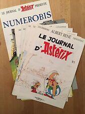Le Journal d'Astérix - Numéros 1 à 7 + numéro bis - 1991 - NEUF
