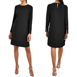 NEXT BLACK LONG SLEEVE DRESS OFFICE PARTY SUMMER UK SIZE 10-22