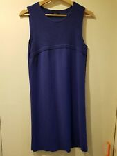 Ladies purple fine knitted dress by F&F, UK 14