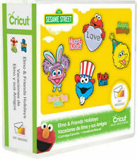 Cricut Elmo and Friends Holiday Sesame Street Cartridge  New, Sealed