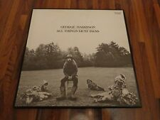 """GEORGE HARRISON """"ALL THINGS MUST PASS"""" - 3LP JAPAN RED WAX  - AP/9016C -  1971"""