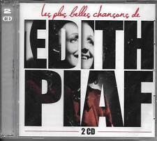 DOUBLE CD 40T LES PLUS BELLES CHANSONS D'ÉDITH PIAF BEST OF 2013 NEUF SCELLE