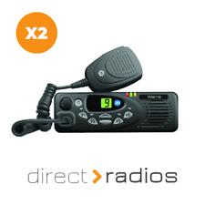 Tait TM8110 Vhf 136 - 174 MHz de radios De Dos Vías Taxi Móvil x 2