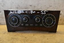 Mercedes C Class Climate Control Unit A2038303485 W203 Heater Control Panel 2005