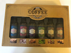 Gourmet Coffee Syrup Sweeteners  Set Sugar Free Brand New in Box