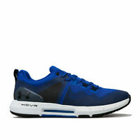 Mens Under Armour Hovr Rise Trainers In Blue- Lightweight, Abrasion Resistant