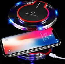 QI Wireless FAST Charger WiFi Charging Mat Dock For iPhone 8 8+ X Samsung S6 S8
