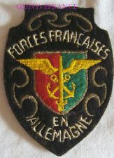 IN20217 - tissu PATCH ECUSSON FORCES FRANÇAISES EN ALLEMAGNE