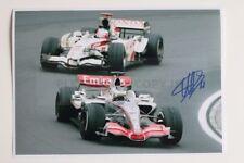 Pedro de la Rosa signed 20x30cm Foto Autogramm / Autograph McLaren MP4-21 Driver