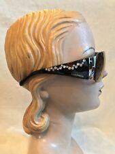 Tiffany & Co Sunglasses LIMITED EDITION TF 3010B BLACK BROWN AVIATOR ***WOW***