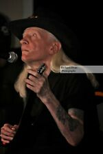 "Johnny Winter 8""x 12"" Photo taken at Narrows Center for the Arts, Dec.30,2011"