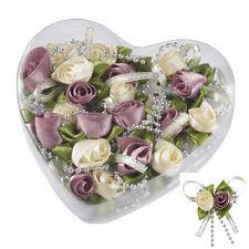 10 Satin-Rosen lila - creme 3865232