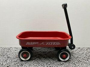"Miniature Radio Flyer Red Pull Wagon 2 3/4"" Tall"