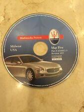 2004-2009 Maserati Quattroporte Navigation CD #5 Midwest MI IN IL WI