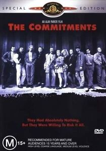The Commitments DVD Brand New and Sealed PAL Region 0