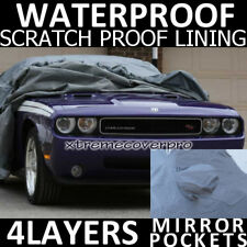 2011 DODGE CHARGER WATERPROOF CAR COVER w/MirrorPocket