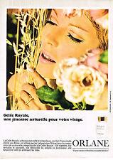PUBLICITE  1966   ORLANE  cosmétiques GELEE ROYALE