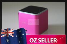 Wireless Bluetooth portable speaker iphone ipod Samsung HTC Micro SD - PINK