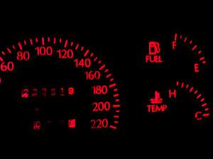 Red LED Dash Cluster Light Kit for Holden Commodore VR VP VL VN VS