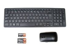 DELL KM714 Wireless Keyboard & WM514 Mouse Set Combo FRENCH FRANCAIS Layout Ref
