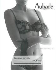 AUBADE LINGERIE - CATALOGUE AUTOMNE/HIVER 2010