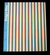 More details for bridget riley works 1968-1973   2013 art exhibition catalogue