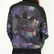 SIZE WOMENS 10 - ADIDAS ORIGINALS TOKYO TREFOIL LOGO LIMITED EDITION TRACKTOP