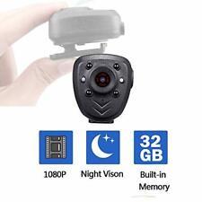 Body Cop Hidden Spy Camera Built-in 32GB Memory Card 1080P Wearable Sport Cam