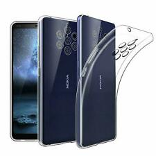 For Nokia 9 PureView Case Clear Silicone Ultra Slim Gel Cover