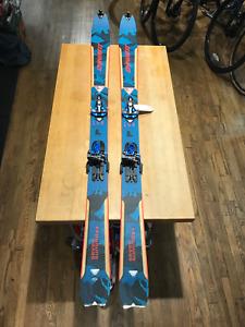 Dynafit Seven Summits + backcountry ski package 158cm skins Radical bindings