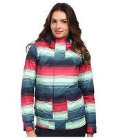 Burton Cassidy Jacket Womens Snowboard Ski 10k Waterproof Insulated Stripe XS