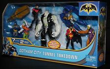 Gotham City Take Down Batman Azreal Grundy Red Robin Night Wing Joker 2 face MIB
