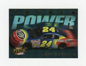 Jeff Gordon 1996 96 Fleer Ultra Update Proven Power Insert Card Tough Rare Find