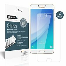 2x Samsung Galaxy c7 Pro Pellicola Protettiva-Pellicola Pellicola in Vetro 9h dipos Glass