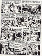 FULGOR (BILD) SUPERBE  PLANCHE ORIGINALE ARTIMA  ANNEES 1950 PAGE 8