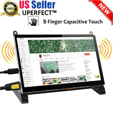 7'' inch 1024x600 HI Raspberry Pi Capacitive Touch Screen LCD Display Monitor US