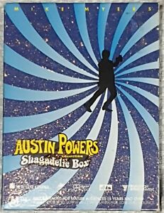 AUSTIN POWERS COLLECTION SHAGADELIC DVD BOX SET - 3 Disc Set