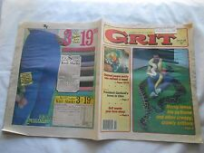 GRIT-JANUARY 8,1989-MONTY LOVES HIS PYTHONS AND OTHER CREEPY, CRAWLY CRITTERS