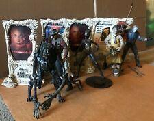 Movie Maniacs Series 1 Lot 5 Figures McFarlane Freddy Jason Leatherface Speciesâ…¡