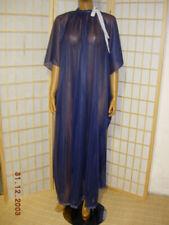 ADULT Nylon Kleid Baby Nachkleid Maid Transperant Stof Nachthemd Versch. Farben