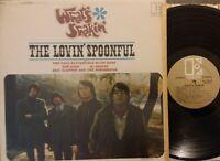 Lovin' Spoonful What's Shakin' & Paul Butterfield Blues Band Vinyl LP Stereo VG+
