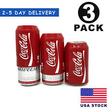 Silicone Beer Can Covers Hide A Beer Soda Can Sleeve 350ml Covers (3 Pack) Usa
