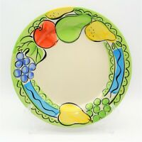 Sango Orchard Pattern 6103 Dinner Plate Hand Painted Vintage 1990 s Stoneware