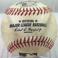 MADISON BUMGARNER (BATTER) GAME-USED MLB BASEBALL 1-HIT SHUTOUT 9/12/15 GIANTS