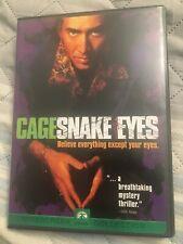 Snake Eyes - Dvd - Nicolas Cage