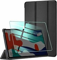Smart Case for Huawei MatePad 10.4 (BAH3-AL00/BAH3-W09) & Glass Protector