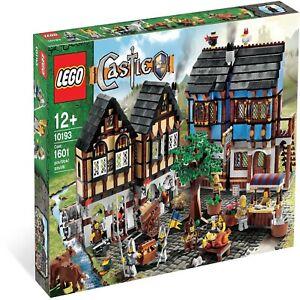 Lego 10193 Castle Medieval Market Village Retire Product Best Reasonable Price